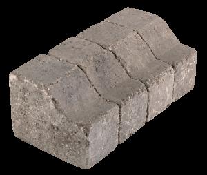 Bordure rive rétro gris porphyre alkern