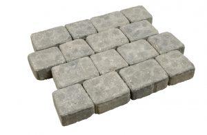 Pavé en béton Baroco vieilli gris granit alkern