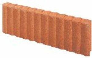 Bordurette béton rondin saumon alkern