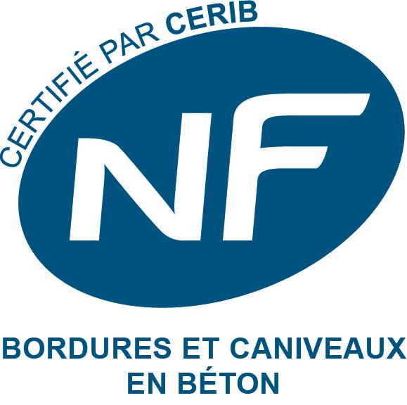 Logo NF bordures et caniveaux en béton
