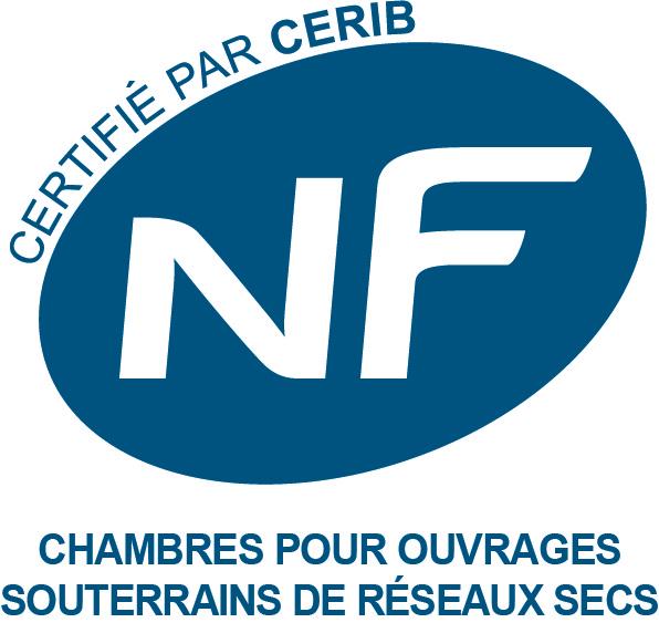 Logo NF chambre pour ouvrage réseaux secs