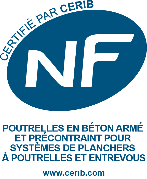 Logo poutrelle NF