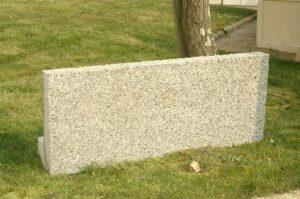 Muret en béton Alkern Mont Banc