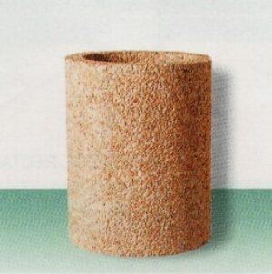 Poubelle ronde Alkern en béton