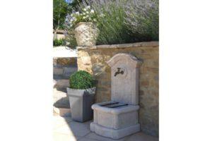 Fontaine en béton préfabriqué Alkern méridionale