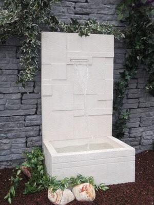 Fontaine éclat Alkern avec lame d'eau