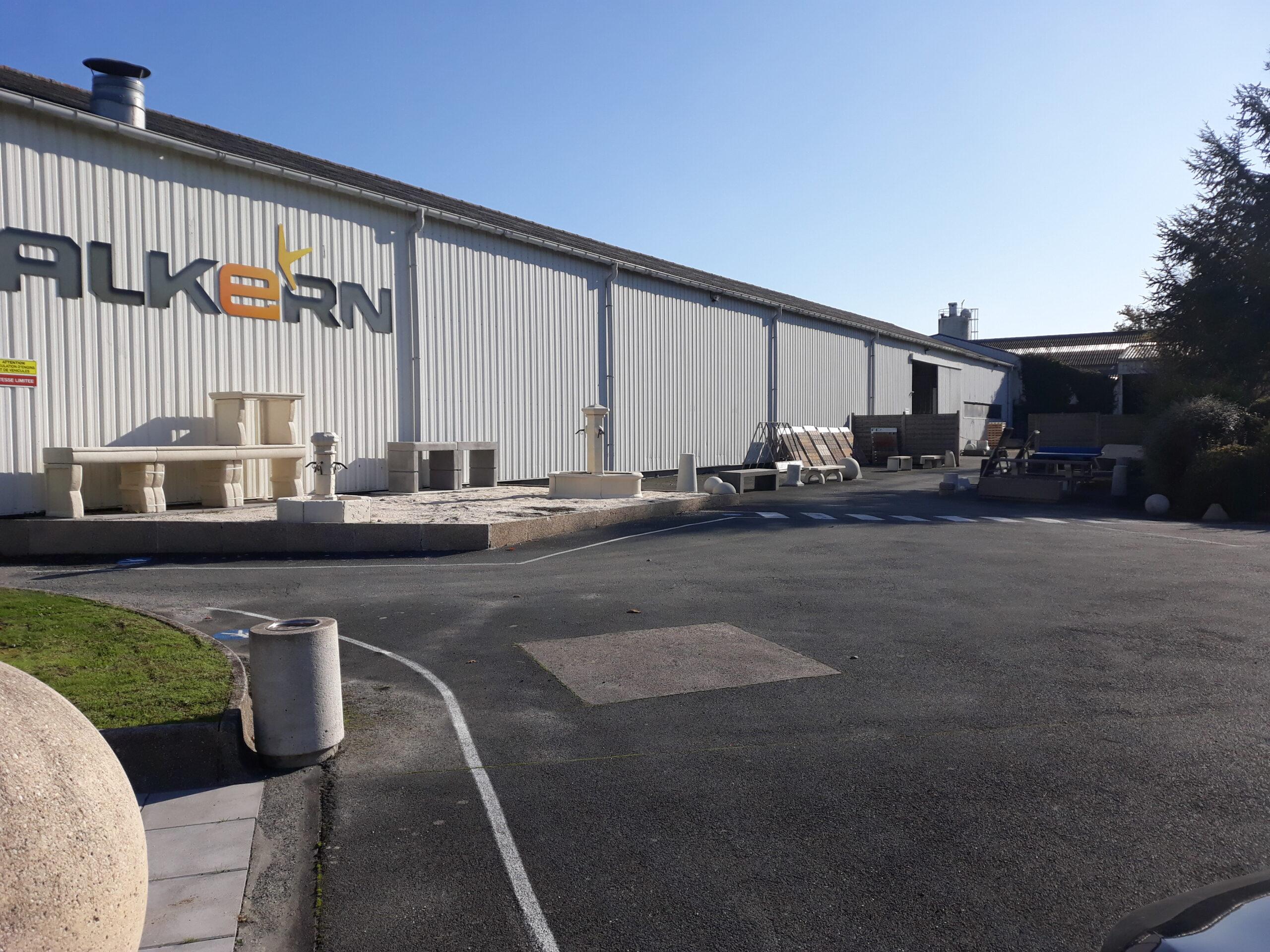 Alkern - ex Novadal : Votre partenaire aménagement extérieur en béton préfabriqué en région Ouest