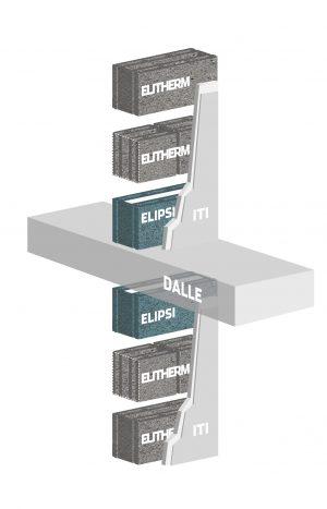 Système constructif R+mur alkern