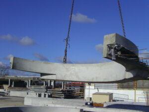 Alkern Caen usine préfabrication lourde béton